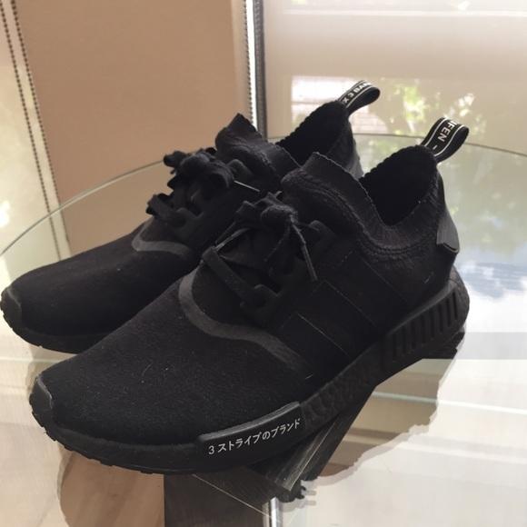 18115ddcefa5d adidas Other - Adidas NMD R1 Primeknit  Japan Triple Black
